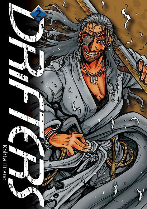 Drifters manga PL
