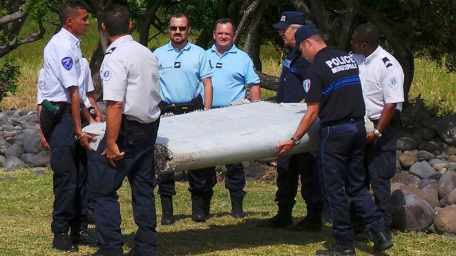 A wing part from MH370 was found on the French island of Reunion in July 2015..#thenewscompaany #aerobdnews