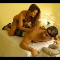 На това му се казва масаж с щастлив край :) (видео)