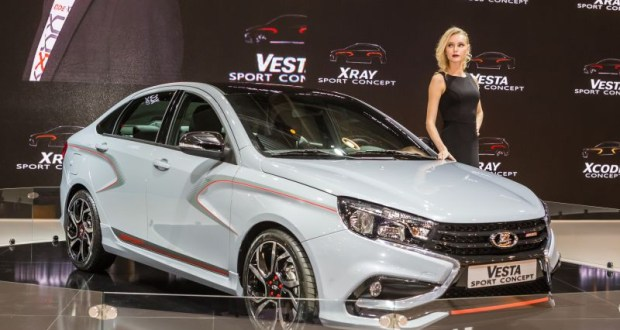 Новата Lada Vesta Sport