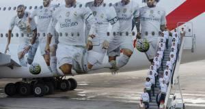 Самолетът на Реал Мадрид