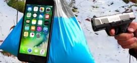 Ще успее ли това невероятно вещество да спаси iPhone 7 от изстрел с пистолет? (ВИДЕО)