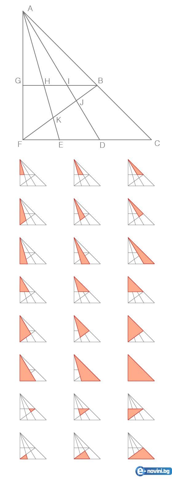 Колко триъгълника има