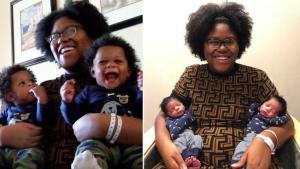 Уникален случай! Американка роди близнаци два пъти в една и съща година