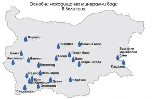 Минералната вода в България – къде коя какво лекува?