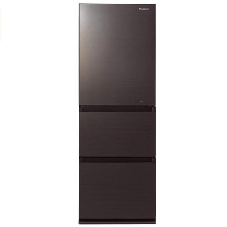 パナソニック 冷蔵庫 3ドア NR-C340GC-T