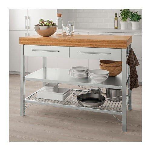 IKEA イケア RIMFORSA アイランドキッチン