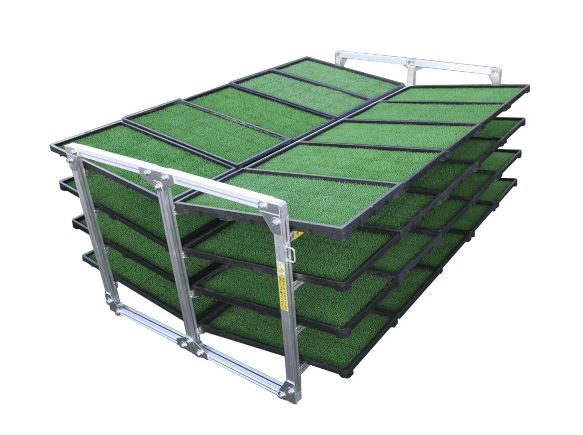ALINCO 斜め収納専用 苗箱収納棚40枚用 NC40K