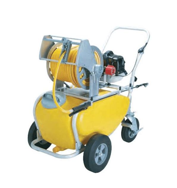 工進 エンジン式 噴霧器50Lタンクキャリー 2連/8.5mm MSV-E2R50TH85