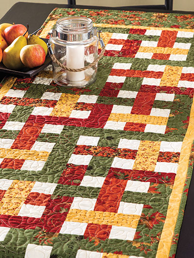 Basket Weave Quilt Pattern : basket, weave, quilt, pattern, Quilting, Basket, Weave, Table, Runner, Pattern, #EQ01363