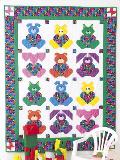 Animal Baby Quilt Patterns : animal, quilt, patterns, Heartland, Quilt