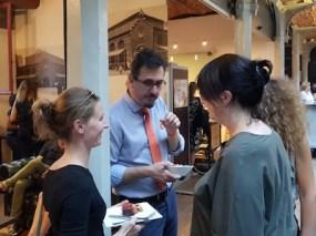 Martin Dougiamas, Soirée de gala, Bruxelles, halles St Géry