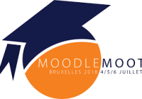 MoodleMoot2018FR Bruxelles, Logo