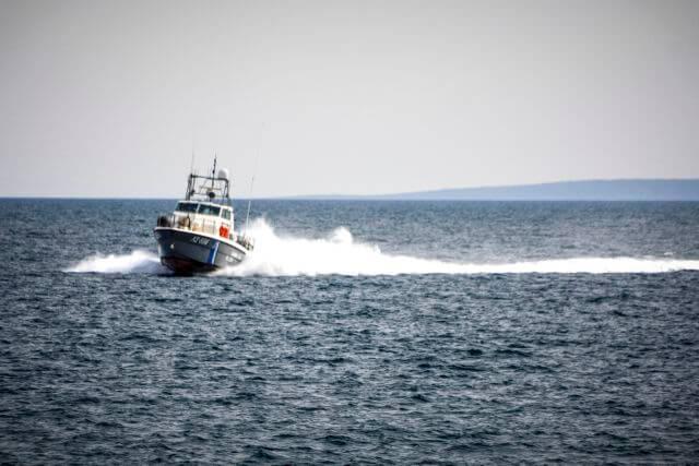 Ακυβερνησία Ι/Φ σκάφους στην Αίγινα