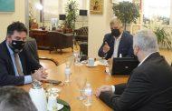Συνάντηση του Περιφερειάρχη Αττικής Γ. Πατούλη με αντιπροσωπεία της Ένωσης Εστιατορίων