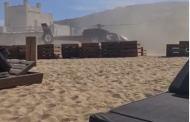 Επιχειρηματίας προσγειώθηκε σε παραλία της Μυκόνου με το ελικόπτερό του