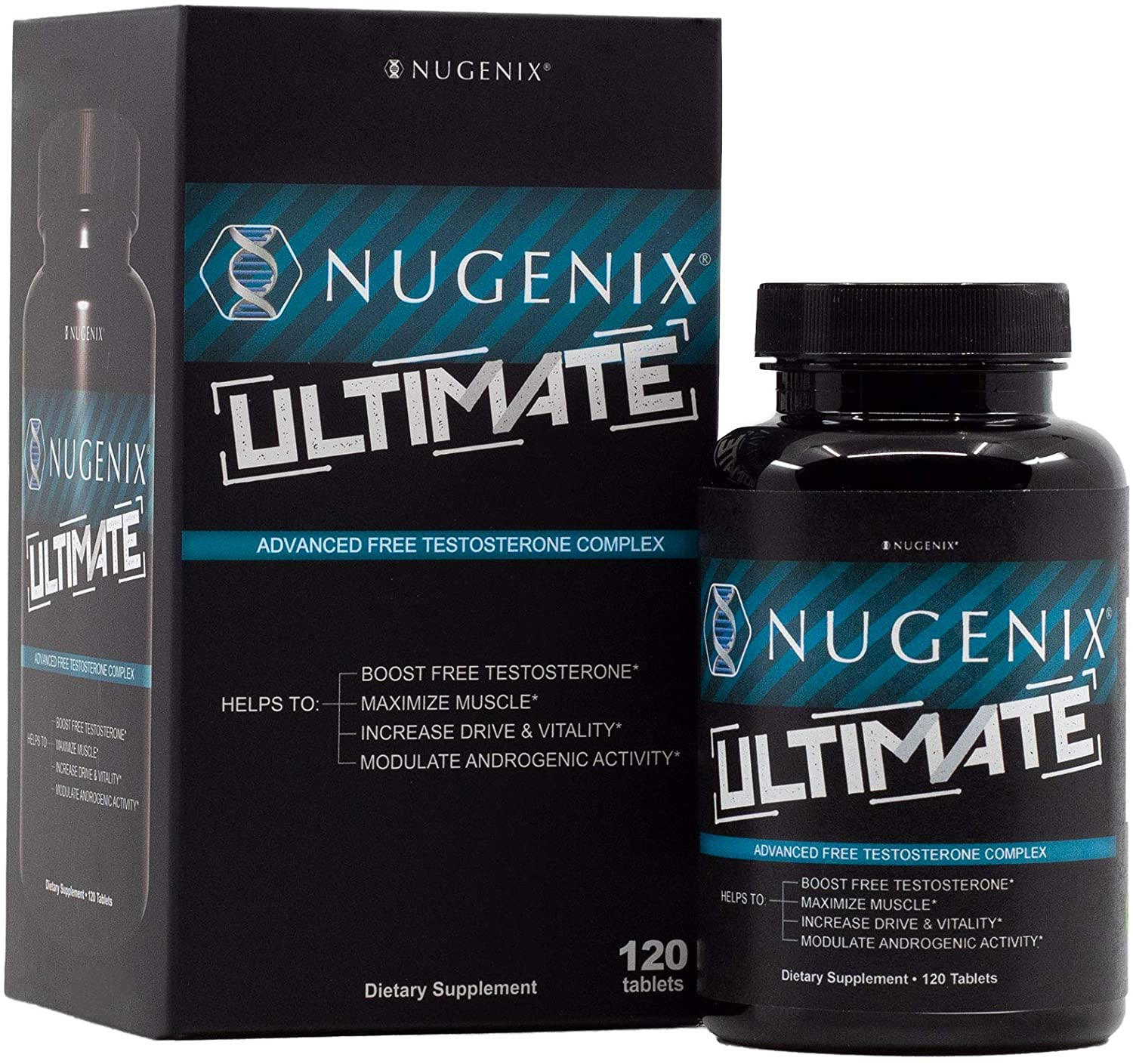 Nugenix Ultimate Testosterone Booster for Men Clinically ...