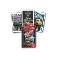 Karty do gry Cars 2 Disney – Kwartet