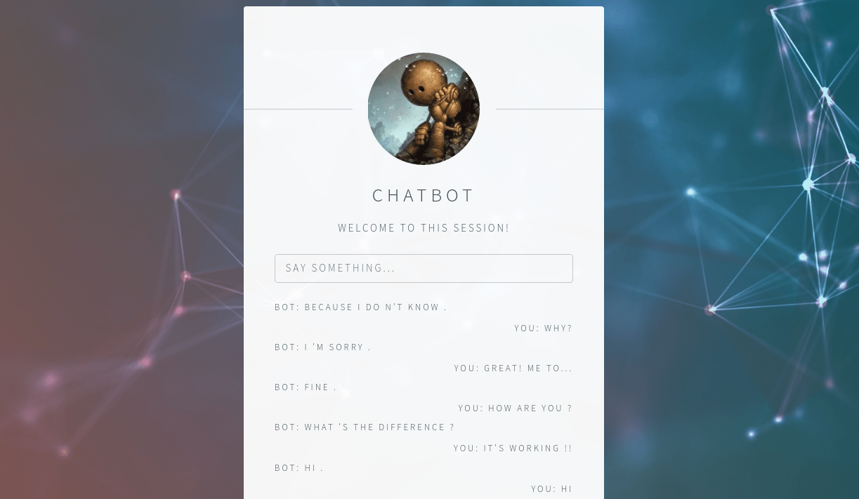 chatbot cv