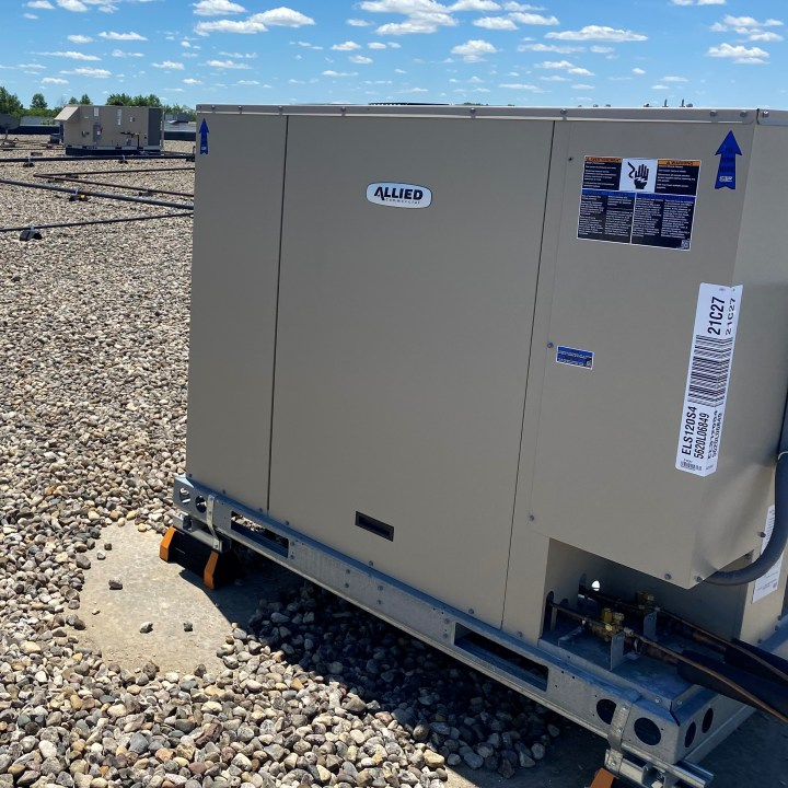 Allied rooftop HVC unit.