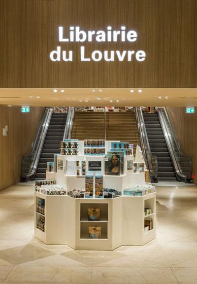 Louve Gift Shop : louve, Reopening, Louvre, Bookstore, Giftshop, Services