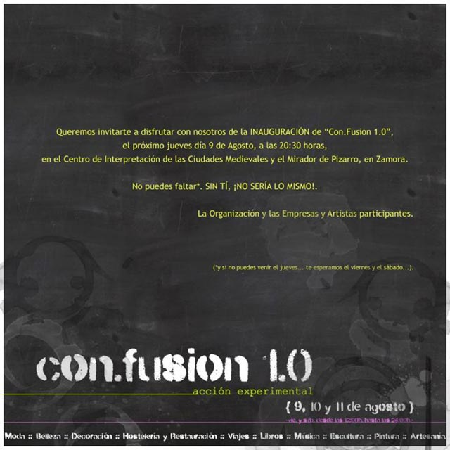 San Miguel - CON.FUSION 1.0