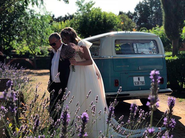 Un vestido de novia Estels d'Argent. Una boda especial.