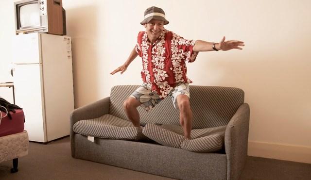 Couchsurfing Surfer
