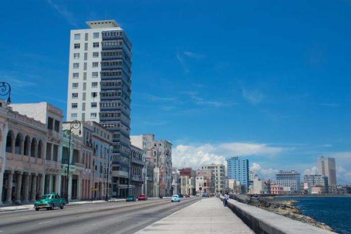 Malecon Küba Havana