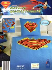 Bettwsche Superman