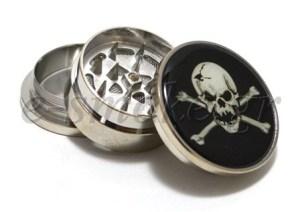 Grinders Metal MT2 Skull & Crossbones