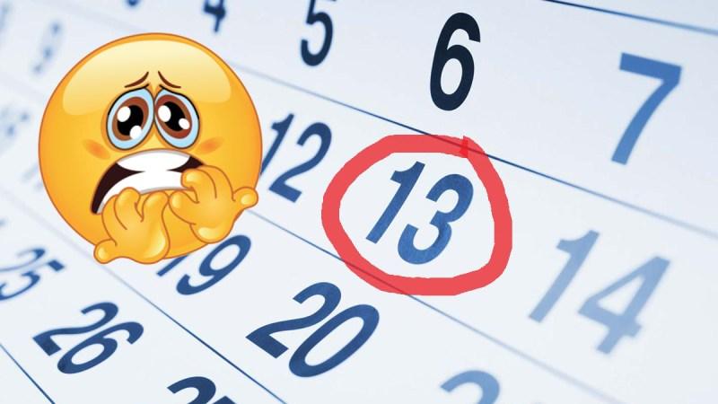 Symbolbild Freitag der 13.