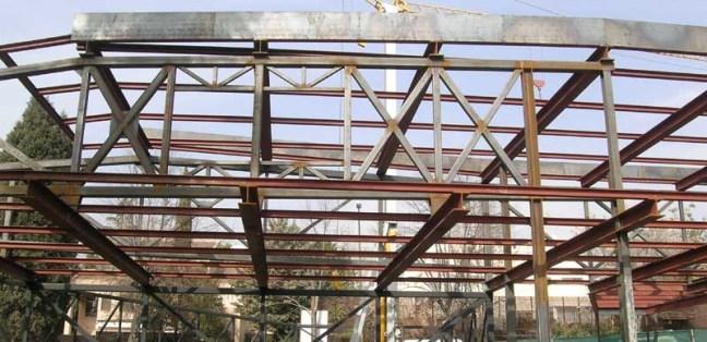 tipos de acero laminado estructural. Estructura de acero.