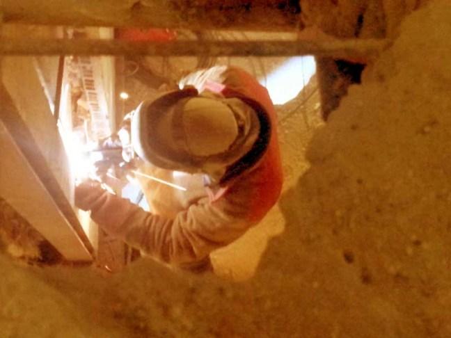 tipos de acero laminado estructural. Soldador