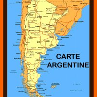 Carte Argentine et Plan