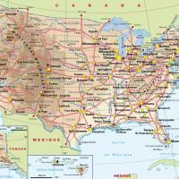 Carte des états unis images et photos