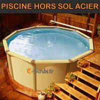 Piscine Hors sol acier, métal ou Bois - Images