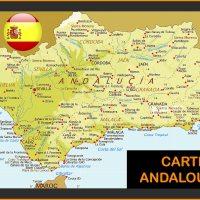 Carte Andalousie - Images et Plans