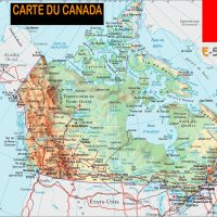 Carte Canada - Images et Photos