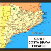 Carte Espagne Costa - Images
