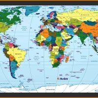 Carte du Monde - Plan des Pays - Images