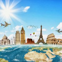 Photos Voyages - Carte des pays du monde - Images Vacances