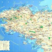 Carte de Bretagne - Géographie