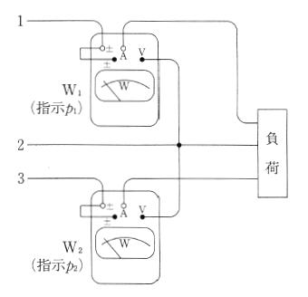 2 電力 計 法 ベクトル 図