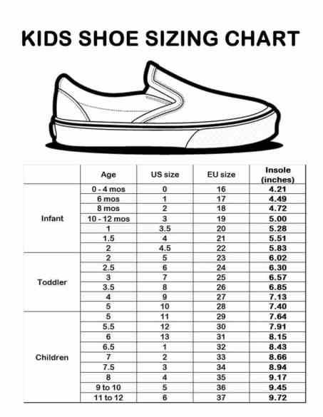 c0d10dc90 كيفية معرفة مقاسات الأحذية عند التسوق عبر الإنترنت - مدونة التجارة ...