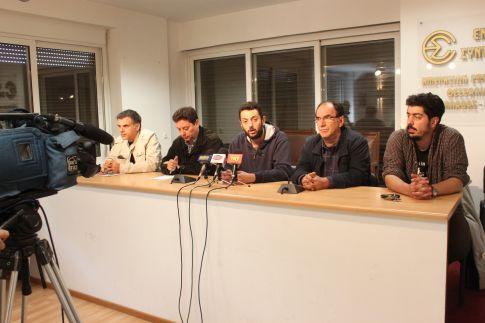Συνέντευξη Τύπου παραχώρησαν χθες οι διοργανωτές της αντιφασιστικής εκδήλωσης