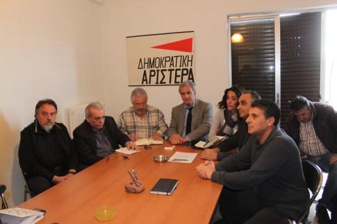 Τόνισε το στέλεχος της Δημοκρατικής Αριστεράς Σπ. Λυκούδης από το Βόλο