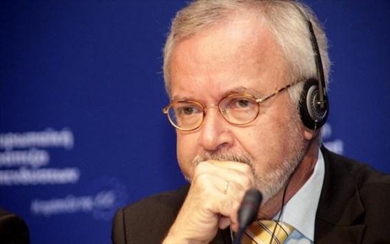 O πρόεδρος της Ευρωπαϊκής Τράπεζας Επενδύσεων (ΕΤΕπ) Βέρνερ Χόγιερ.
