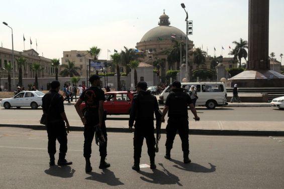 Muslim Brotherhood protest in Cairo