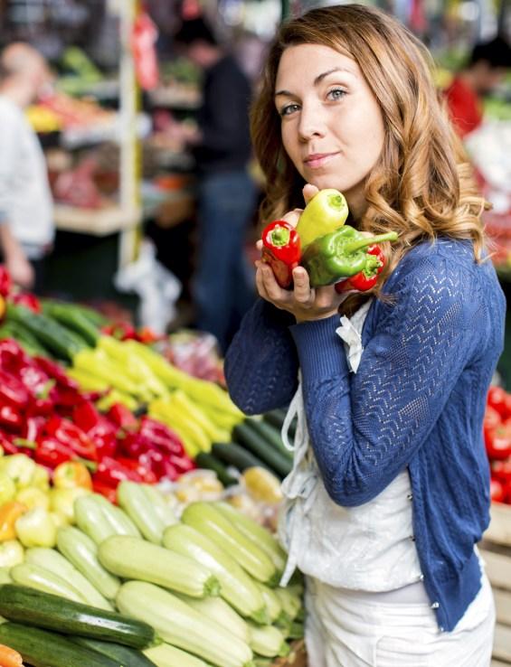 κορίτσι,λαχανικά